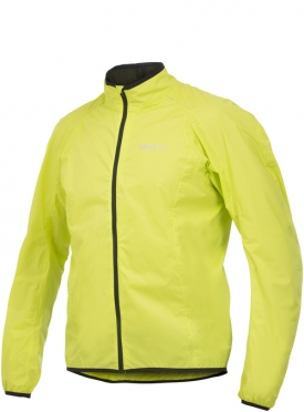 Craft Move rain jacket men yellow