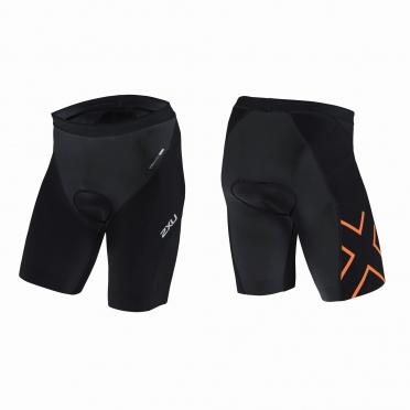 2XU GHST Tri short black/orange men