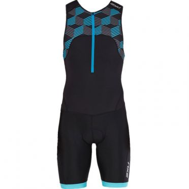 2XU Active sleeveless trisuit black/blue men