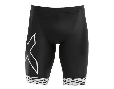 2XU Compression tri shorts black/white men