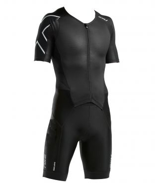 2XU Perform short sleeve trisuit black men