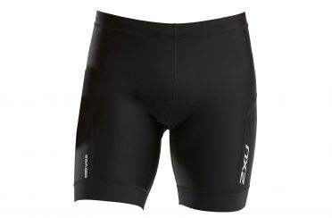 "2XU Perform 7"" tri shorts black men"