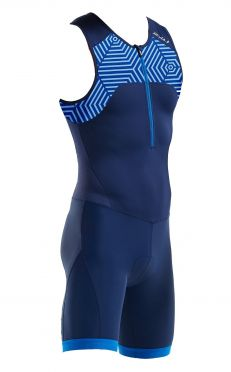2XU Active sleeveless trisuit blue men