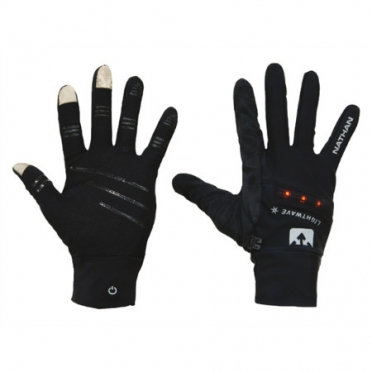 Nathan TEC running glove LED