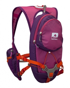 Nathan Intensity Drinking backpack 6L purple women