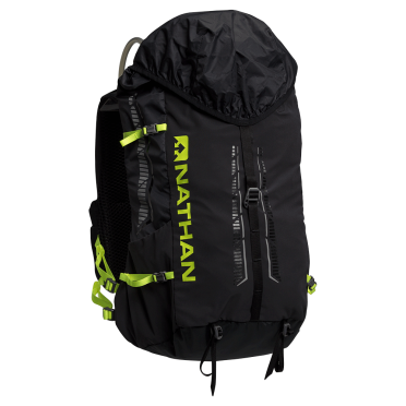 Nathan Journey fastpack 25L outdoor backpack black/safety yellow