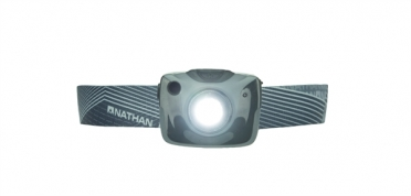 Nathan Nebula Fire headlamp grey
