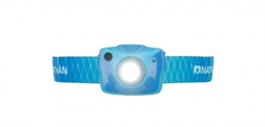 Nathan Nebula Fire headlamp blue