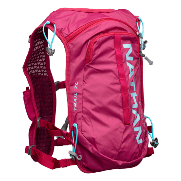 Nathan TrailMix 7L drinking backpack sangria/magenta women