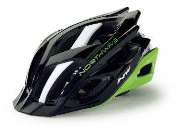 Northwave Strom MTB helmet black/green/white men
