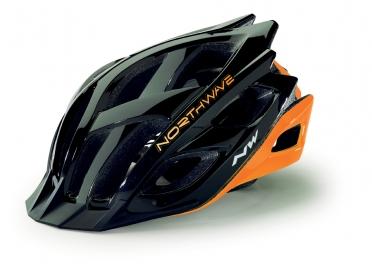 Northwave Strom MTB helmet black/orange fluo men