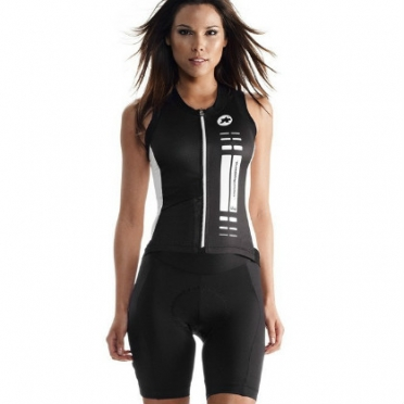 Assos nS.superLeggera cycling jersey black women