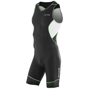 Orca Core race trisuit black/green men