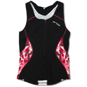 Orca Core tri top black/pink women