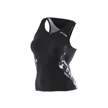 Orca Core tri top black/white women