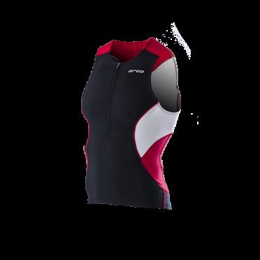 Orca Core tri top black/red men