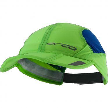 Orca Foldable running cap green