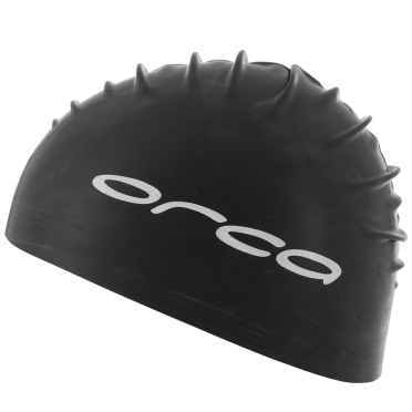 Orca Latex swim cap black