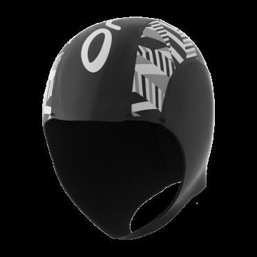 Orca Neopreen swim cap black/silver