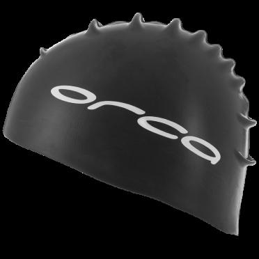 Orca Silicone swim cap black