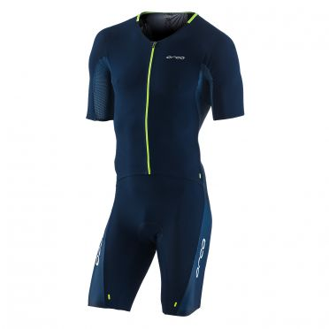 Orca 226 Kompress aero race trisuit blue men