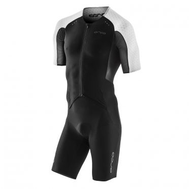 Orca core aero race trisuit short sleeves black men Kopie