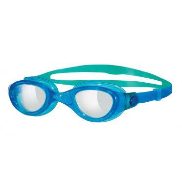 Zoggs Phantom clear goggles blue