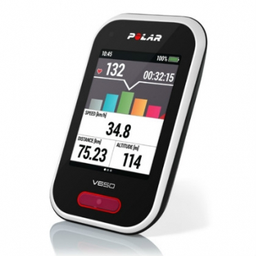 Polar V650 GPS cycling computer with heart rate sensor