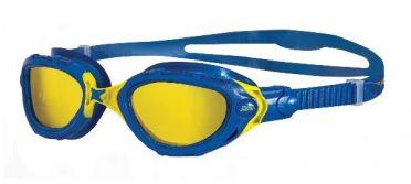 Zoggs Predator flex CV goggles blue/yellow