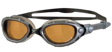 Zoggs Predator flex polarized ultra goggles silver