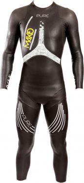 Mako Pure full sleeve wetsuit black/white men