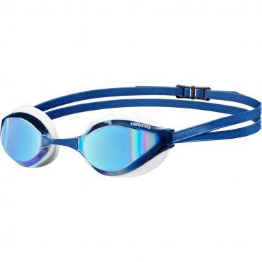 Arena Python mirror goggles blue