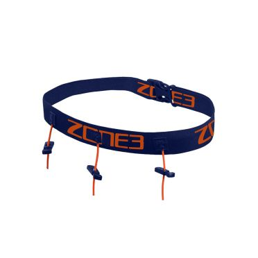 Zone3 Racebelt with gel loops blue/orange