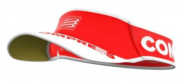 Compressport Ultralight running visor red