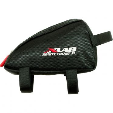 XLAB Rocket pocket XL top tube bag black