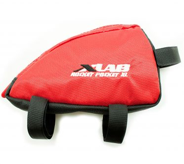 XLAB Rocket pocket XL top tube bag red