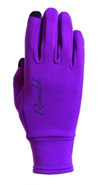 Roeckl Paulista winter cycling glove purple unisex