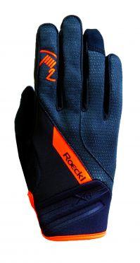 Roeckl Renon winter cycling glove black/orange unisex