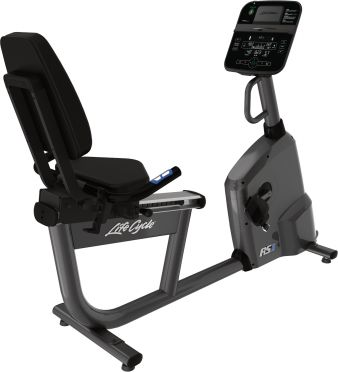 Life Fitness RS1 recumbent LifeCycle Track Connect new