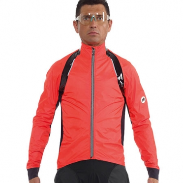 Assos rS.sturmPrinz EVO rain jacket red men