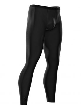 Compressport Under control compression running full tights black unisex