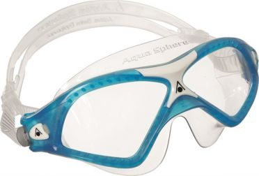 Aqua Sphere Seal XP 2 clear lens goggles blue