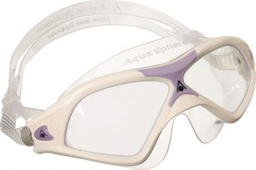 Aqua Sphere Seal XP 2 Lady clear lens goggles white/purple