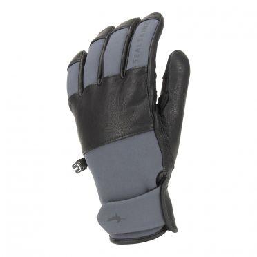 Sealskinz Waterproof Cold Weather gloves black/grey