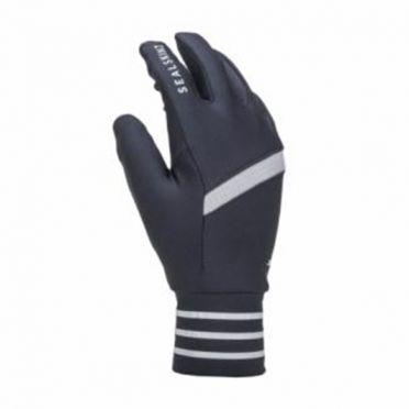 Sealskinz Solo reflective gloves black