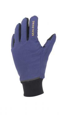 Sealskinz Waterproof all weather lightweight gloves blue
