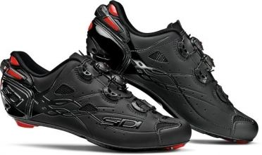 Sidi Shot matt road shoe black men