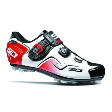 Sidi Cape mountainbike shoe white/black/red