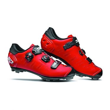 Sidi Dragon 5 SRS Matt MTB shoe red men