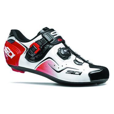 Sidi kaos carbon race shoe white/black/red men